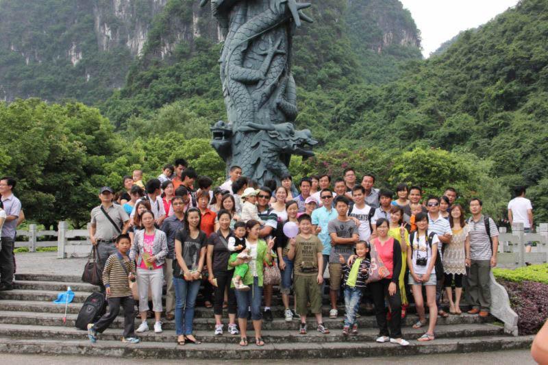 組織同事桂林親子旅游